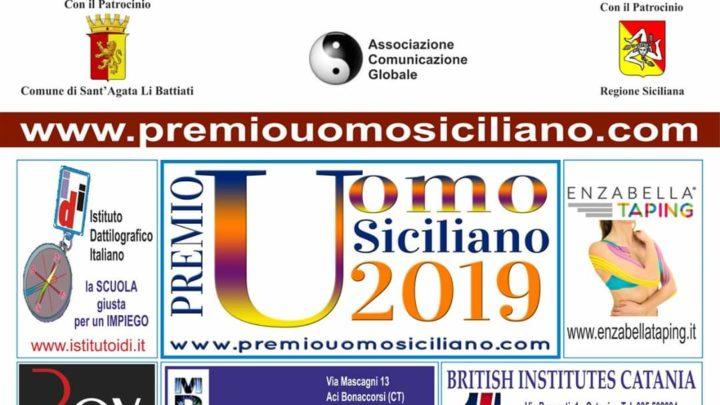 Premio Uomo Siciliano 2019, al via il prossimo 14 dicembre.