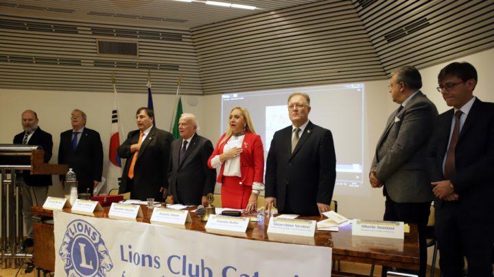 """""""Giovani ad ogni età"""". Incontro del Lions Club Catania For An Absolute Serve"""