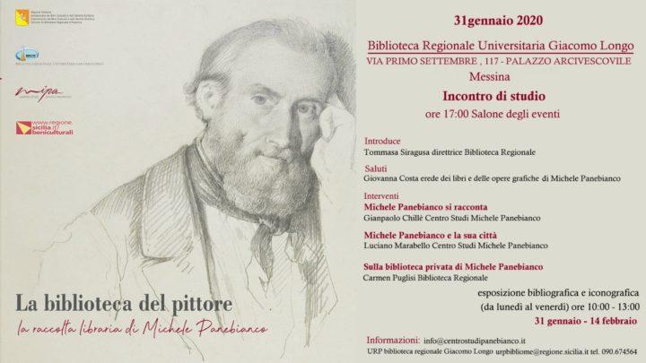 Venerdì 31 Incontro di Studio sul pittore Michele Panbianco nella Biblioteca Regionale Universitaria di Messina