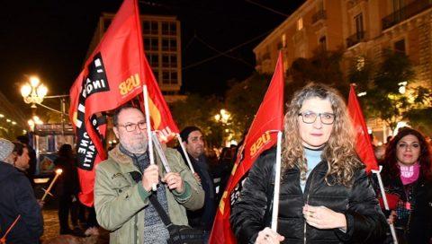 Catania in piazza contro gli sgomberi dei senza casa