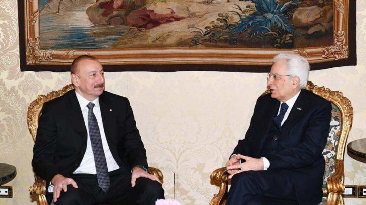 Politica: Italia e Azebaigian nuovi accordi.