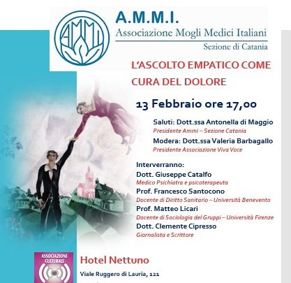 Catania, L' associazione A.M.M.I. ed il  meeting sull'ascolto.