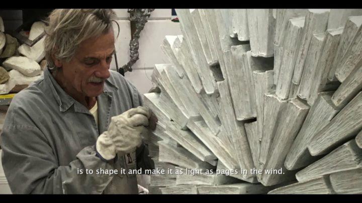 Lo scultore Lorenzo Perrone ospite della Società Storica Catanese