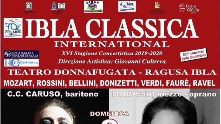 A Ragusa Ibla, l'8 Marzo, C. C. Caruso e Maria Russo in concerto