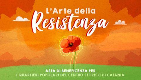 Arte e solidarietà: l'arte della resistenza – l'asta di beneficenza per i quartieri popolari – Gammazita