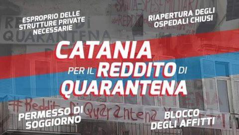 """Avviata la piattaforma on line """"Catania per il reddito di quarantena"""""""