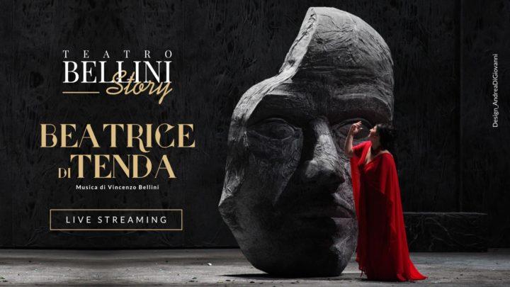 """#iorestoacasa Teatro Bellini Story: il 4 aprile """"Beatrice di Tenda"""" di Vincenzo Bellini"""