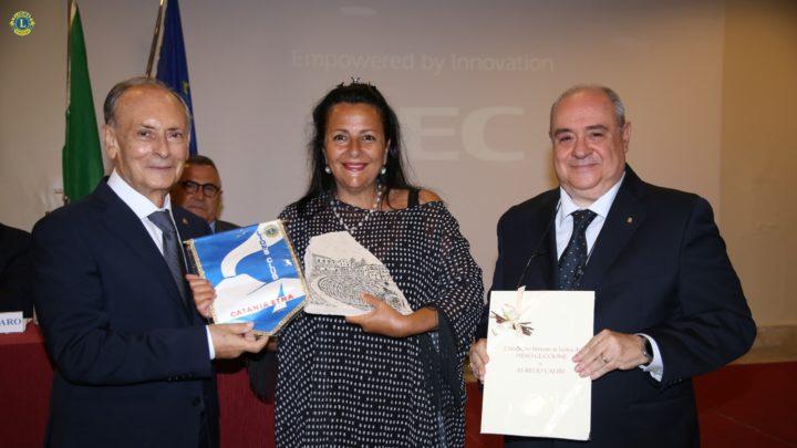 Lions Catania Etnea: premiata un'attrice Doc, Vitalba Andrea.