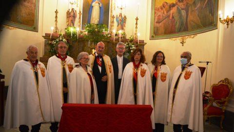 Investitura di Cavalieri e Dame dell'Ordine Santa Teresa de Jesus Avila di Castiglia