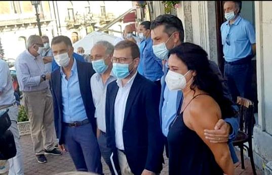"""il Ministro Provenzano in visita nella Provincia Etnea. Ersilia Saverino: """"Implementare progetti di ampio respiro in tutta la Sicilia"""""""