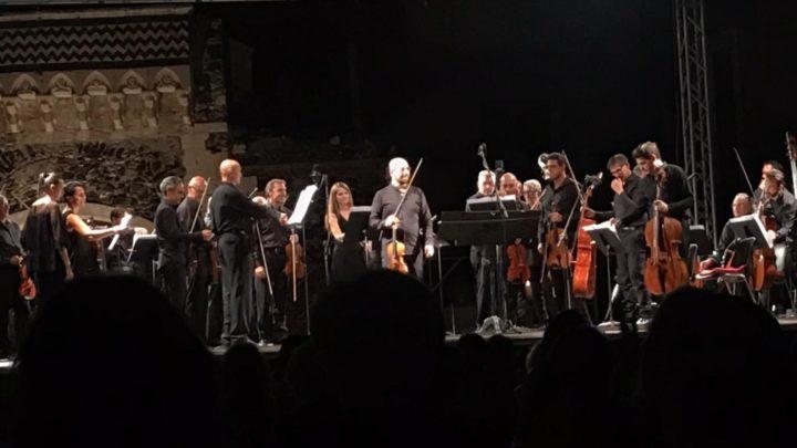 Giulio Plotino ha diretto l'Orchestra d'Archi del TMB
