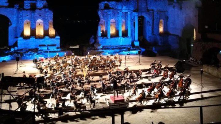 Gershwin e Ravel al Teatro Antico di Taormina