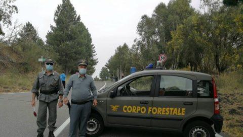 Dispersi e ritrovati sull'Etna dal Corpo Forestale una donna R.S. di 43 anni con il suo bambino di 8 anni