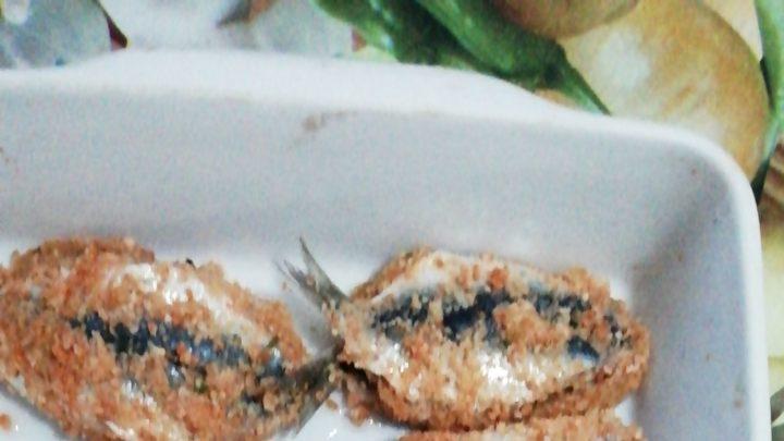 """""""Sarde a Beccafico"""" alla Don Tano, ricetta tradizionale made in Sicily."""