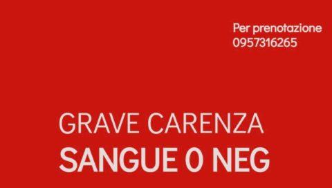 Carenza di sangue presso l'ospedale San Marco di Catania