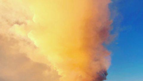 la sveglia dell'Etna