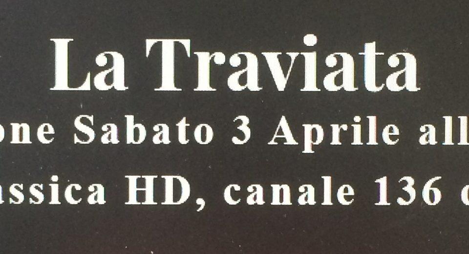 """Sabato sera in TV il film-opera """"La Traviata"""" girato a Catania"""