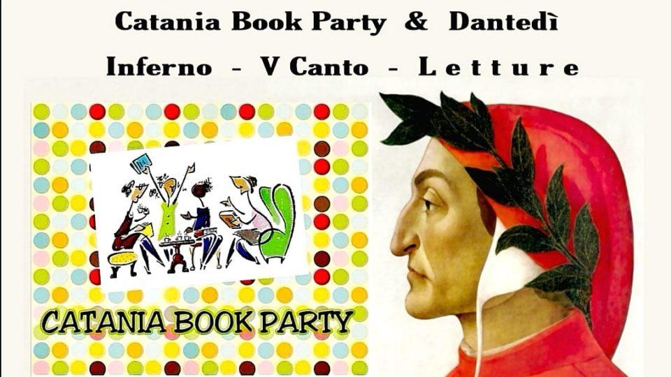 Catania book party celebra con Dantedí, il sommo poeta Dante Alighieri.