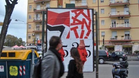 """25 Aprile, Aba Catania, campagna """"Progettare per resistere."""""""