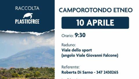 """Camporotondo Etneo: appuntamento il 10 Aprile con """"Plasticfree."""""""