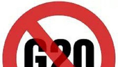 """l'appello del fronte """"NO G20"""""""