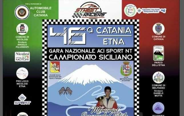 Al via la 46esima gara automobilistica Catania-Etna.