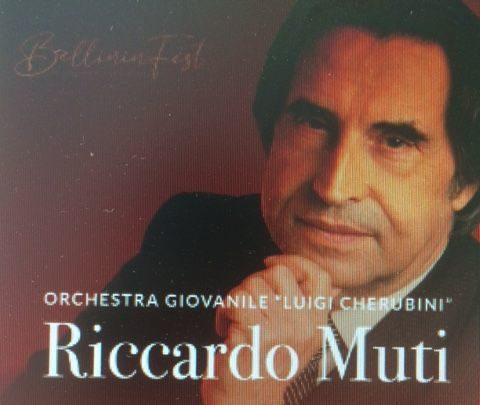 """Riccardo Muti e l'Orchestra Giovanile """"Luigi Cherubini""""  al Teatro Antico di Taormina. In programma musiche di Bellini e Schubert"""