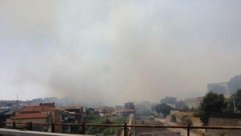 """Incendio nei pressi del quartiere di San Leone e di Fossacreta a Catania. Ersilia Saverino: """"Servono misure incisive ed efficaci per evitare tragedie"""""""
