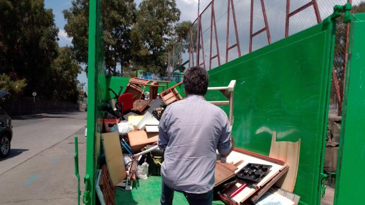 Ambiente: Rifiuti ingombranti a S.A.Li Battiati – domenica 4 luglio straordinaria raccolta (a giugno ha registrato oltre 3 tonnellate di rifiuti)