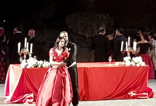 La Traviata del Sicilia Classica Festival al Teatro antico di Taormina