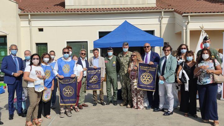 Il Rotary Club etneo solidale con gli sfollati dell'Afghanistan.