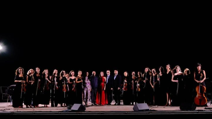 La Women Orchestra incanta il pubblico al Parco Archeologico di Selinunte