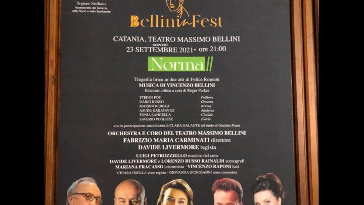 BellininFest – Norma in diretta su Rai 5