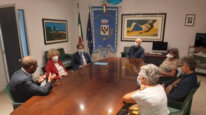 Il Prefetto di Catania Librizzi, in visita a Misterbianco.