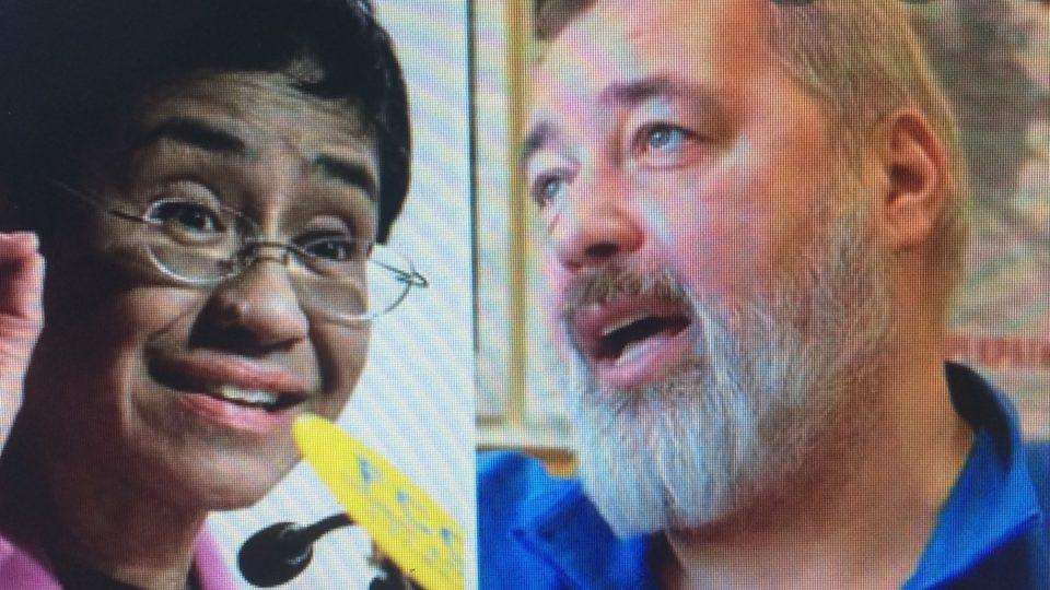 Il Premio Nobel per la Pace 2021 a due giornalisti investigativi che lottano per la libertà di parola